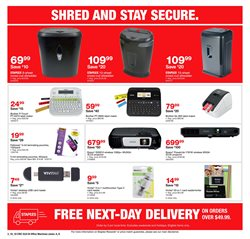 Picture & sound deals in the Staples weekly ad in Flushing NY