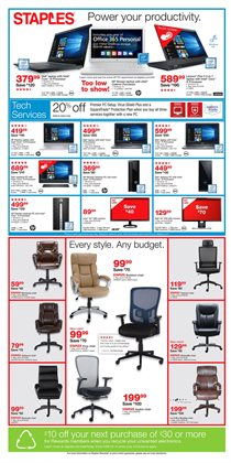 Laptop deals in the Staples weekly ad in Muskegon MI