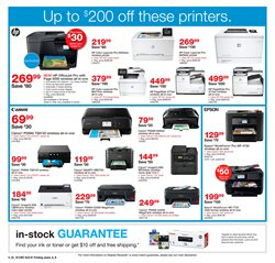 Printer deals in the Staples weekly ad in Grand Rapids MI