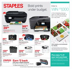 Staples deals in the Johnstown PA weekly ad