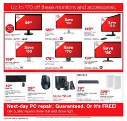 Headphones deals in the Staples weekly ad in Johnstown PA