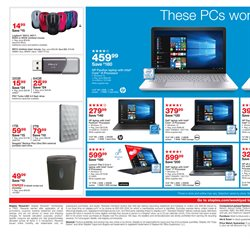 Tablet deals in the Staples weekly ad in New York
