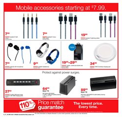 Headphones deals in the Staples weekly ad in Stone Mountain GA