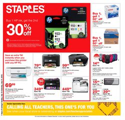Staples deals in the Muskegon MI weekly ad