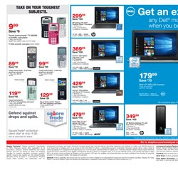 Laptop deals in the Staples weekly ad in Bessemer AL