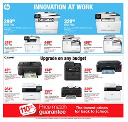 Canon deals in the Staples weekly ad in Bothell WA