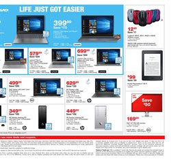 Keyboard deals in the Staples weekly ad in New York