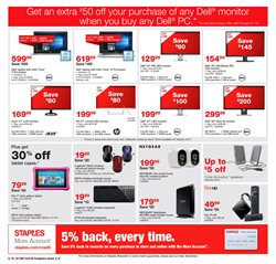 TV deals in the Staples weekly ad in Garden Grove CA