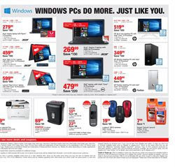 Appliances deals in the Staples weekly ad in Charleston WV