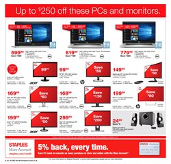 Picture & sound deals in the Staples weekly ad in Charleston WV