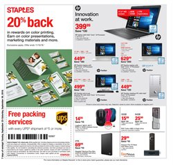 Electronics & Office Supplies deals in the Staples weekly ad in Livonia MI