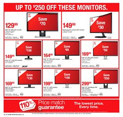 Monitor deals in the Staples weekly ad in Lancaster PA