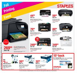Staples deals in the Lebanon PA weekly ad