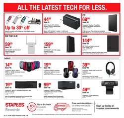 Keyboard deals in the Staples weekly ad in Saint Augustine FL