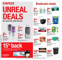Electronics & Office Supplies deals in the Staples weekly ad in Troy NY