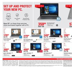 Lenovo deals in the Staples weekly ad in New York