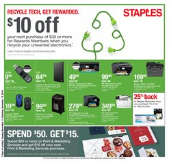 Electronics & Office Supplies deals in the Staples weekly ad in Stone Mountain GA