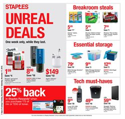 Electronics & Office Supplies deals in the Staples weekly ad in Arvada CO