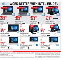 HP deals in the Staples weekly ad in New York