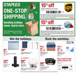 TV deals in the Staples weekly ad in Whittier CA