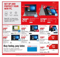 Laptop deals in the Staples weekly ad in Springfield MO