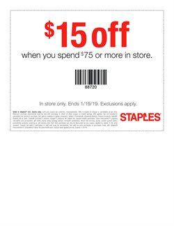 Electronics & Office Supplies deals in the Staples weekly ad in Norcross GA
