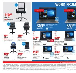 Laptop deals in the Staples weekly ad in Charleston WV