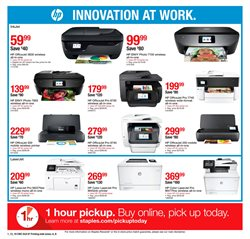 Printer deals in the Staples weekly ad in Lebanon PA