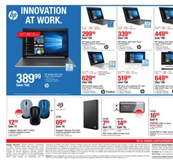 Computers & electronics deals in the Staples weekly ad in Garden Grove CA