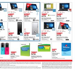 Printer deals in the Staples weekly ad in Irvine CA