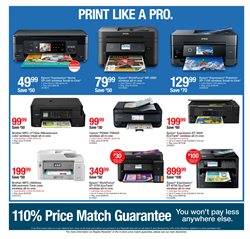 Brother deals in the Staples weekly ad in New York