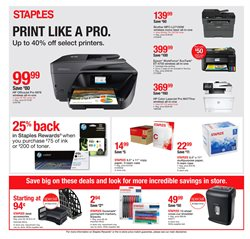 Refrigerators deals in the Staples weekly ad in New York