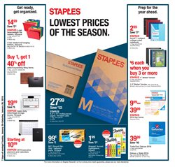 Staples deals in the Troy NY weekly ad