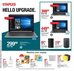 Laptop deals in the Staples weekly ad in Mission TX