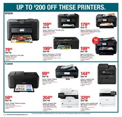 Canon deals in the Staples weekly ad in New York