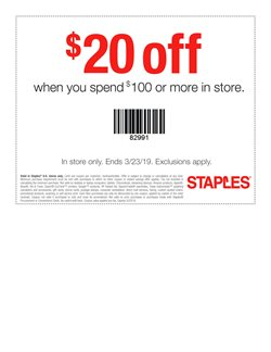 Electronics & Office Supplies deals in the Staples weekly ad in Fullerton CA