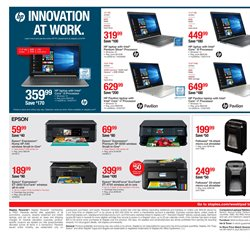 Intel deals in the Staples weekly ad in New York