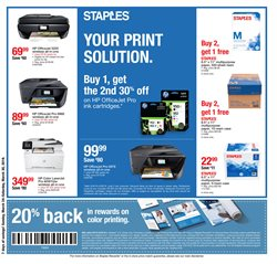 Staples deals in the Newark OH weekly ad