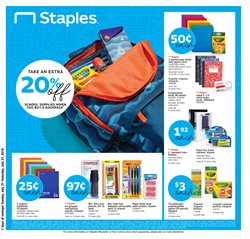 Electronics & Office Supplies deals in the Staples weekly ad in Flushing NY