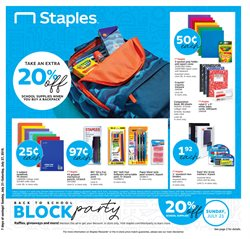 Staples deals in the Charleston WV weekly ad