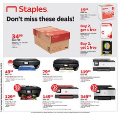 Electronics & Office Supplies deals in the Staples weekly ad in Acworth GA
