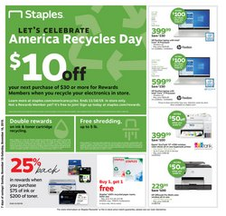 Electronics & Office Supplies deals in the Staples weekly ad in Rochester MN