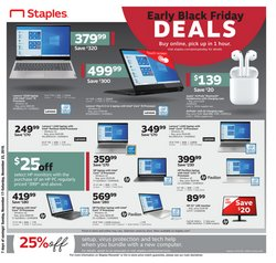 Carolina Mall deals in the Staples weekly ad in Concord NC