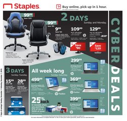 Electronics & Office Supplies deals in the Staples weekly ad in Sterling VA