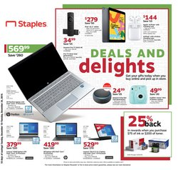 Electronics & Office Supplies deals in the Staples weekly ad in Reading PA