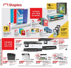 Electronics & Office Supplies deals in the Staples weekly ad in Layton UT