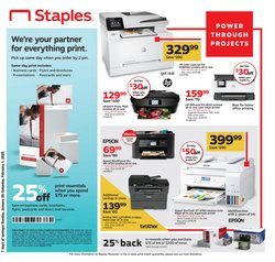 Electronics & Office Supplies deals in the Staples weekly ad in Broken Arrow OK