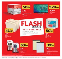 Electronics & Office Supplies deals in the Staples weekly ad in Silver Spring MD