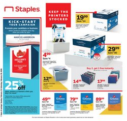 Electronics & Office Supplies offers in the Staples catalogue in San Diego CA ( 3 days left )