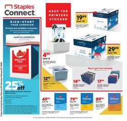 Electronics & Office Supplies offers in the Staples catalogue in Medford MA ( Expires tomorrow )
